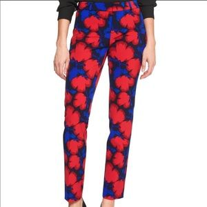 Banana Republic Ryan Floral Pants Size 4P